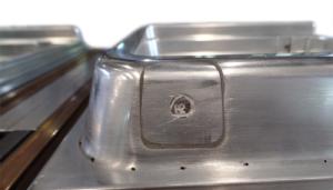 Reparación de molde de termoformado contrapuerta freezer